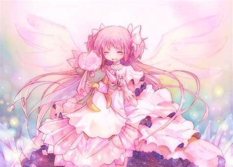 anime girl wallpaper mega pokemon x pulla magi madoka magica mega diancie madoka