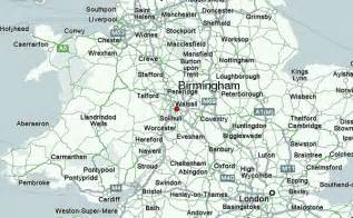 map uk birmingham birmingham location guide
