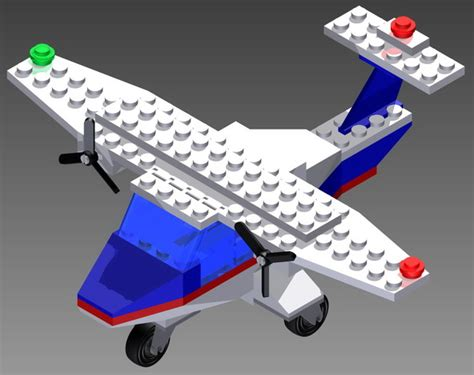 lego airplane tutorial lego airplane 6673 autodesk inventor step iges 3d