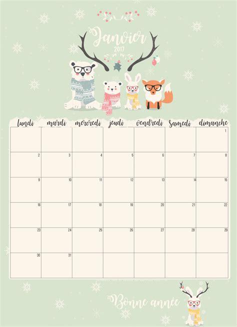 Calendrier 7 Janvier 2015 Calendrier De Janvier 2017 Inspiration