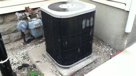 ton goodman air conditioner running youtube