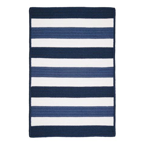anchor area rug home decorators collection cape cod nautical 3 ft x 5 ft braided area rug po59r036x060s the