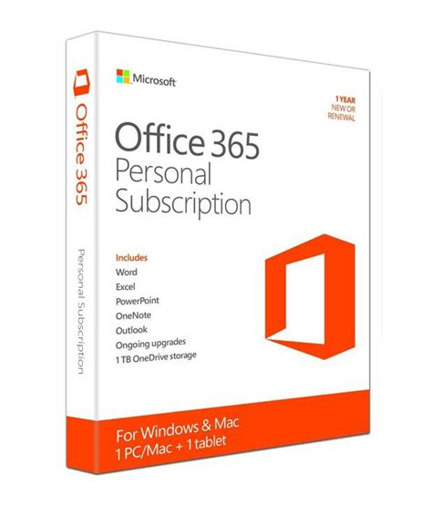 Office 365 X64 Installer Microsoft Office 365 Personal 32 64 Bit Buy Microsoft