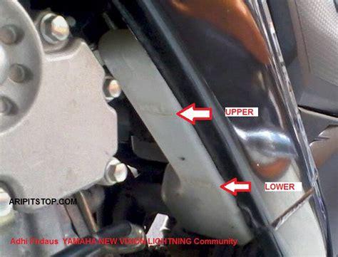 Tabung Oli Sing Dan Radiator aripitstop 187 masih ada yang salah kaprah dengan tangki reservoir vixion bukan tabung oli sing