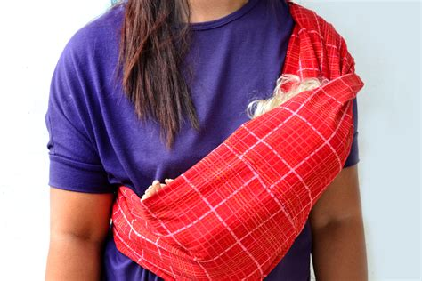 Handmade Baby Sling - how to make a baby sling with pictures wikihow