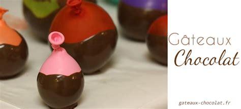 Bol En Chocolat Avec Ballon by Comment R 233 Aliser Un Bol En Chocolat Avec Un Ballon De