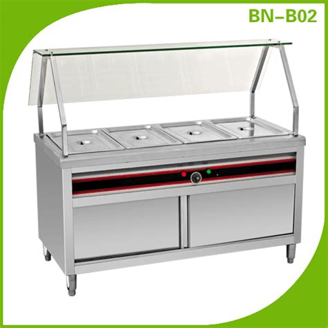 catering equipment stainless steel electric commercial stainless steel food warmmer commercial
