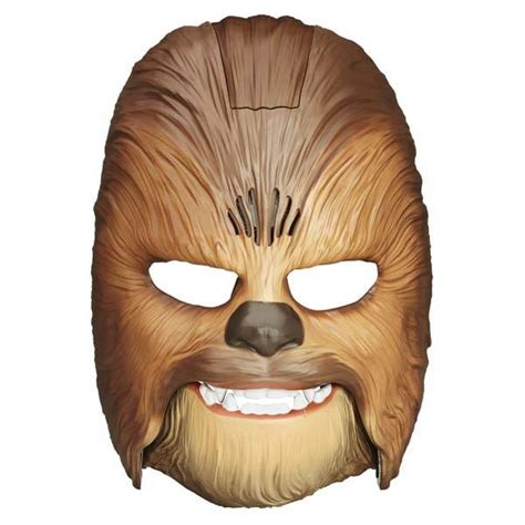 printable chewbacca mask the star wars chewbacca electronic mask transforms you