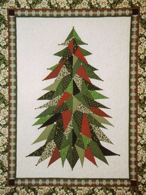 christmas tree pattern patchwork quilt inspiration december 2010