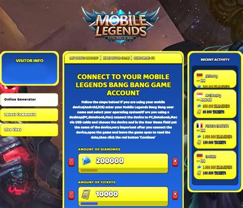 hack mobile legend mobile legends hack diamonds