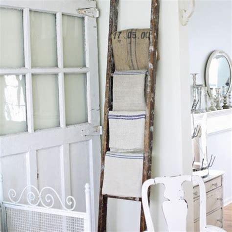 bathroom decorating with old ladder ladders bathroom ideas