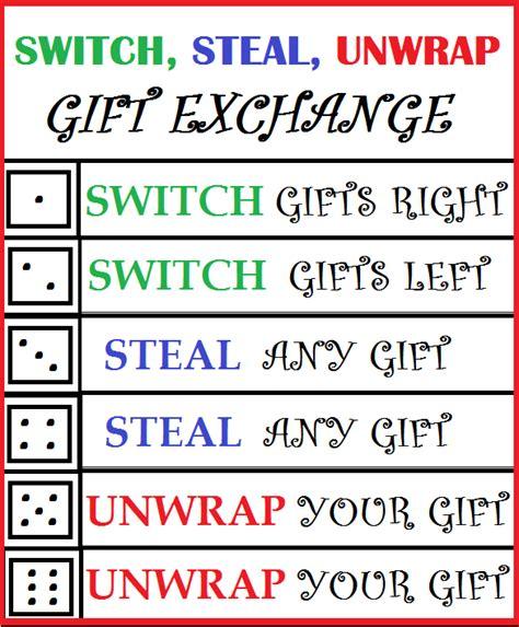 switch steal unwrap gift exchange switch unwrap gift exchange dealssite co