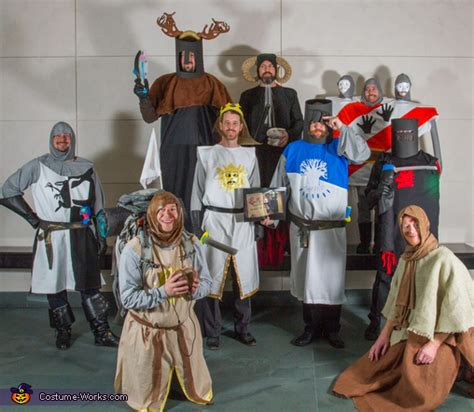 monty python   holy grail group costume