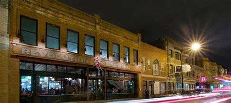 Revolution Brewing Tap Room by Aia Neighborhood Guide Logan Square Green Building And