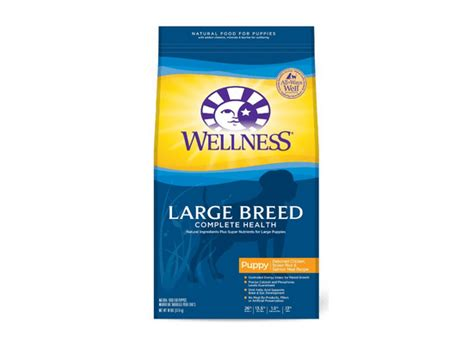 wellness large breed puppy food product review wellness complete health large breed puppy food