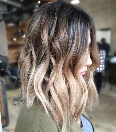 10 balayage ombre hair styles for shoulder length hair haircut 2019