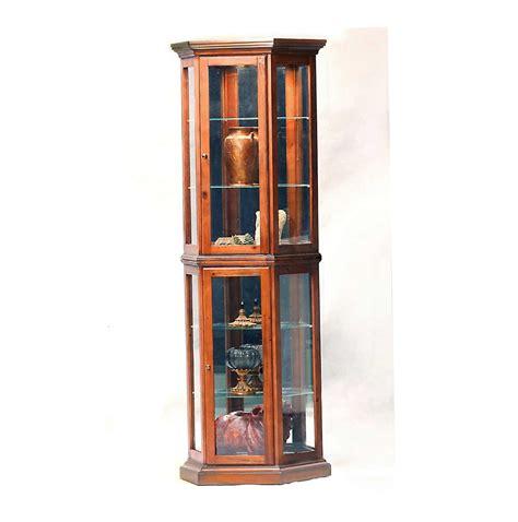 all glass curio cabinet all glass curio cabinets home design ideas