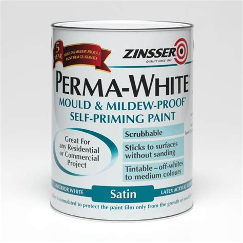 zinsser paint colors zinsser perma white mould and mildew proof interior paint