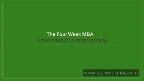 Mba In A Week by Entry Accounting Explained Mba In Pills The Four