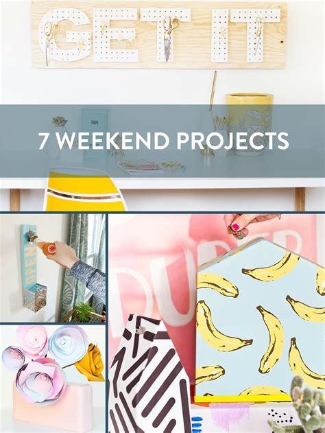 diy projects weekend 7 weekend diy project ideas 187 curbly diy design decor