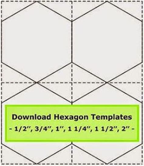 Hexagon Patchwork Templates - tips for cutting hexagon templates geta s quilting studio