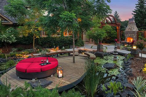 Outdoor Patio Landscaping Landscape 20 Asian Gardens That Offer A Tranquil