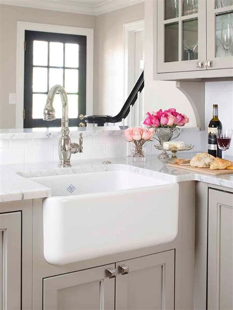 Kitchen With Farm Sink by Fantastic Farmhouse Sinks Apron Front Sinks In Gorgeous