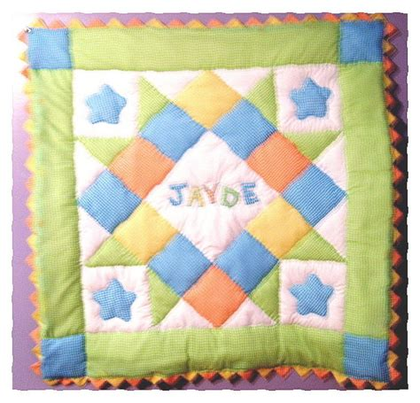 Quilt Kits For Baby Boy by Personalized Baby Boy Pre Cut Quilt Kit W Pattern Sewing