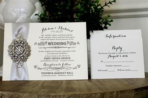 affordable wedding invitations edmonton stationery newmarket stationery