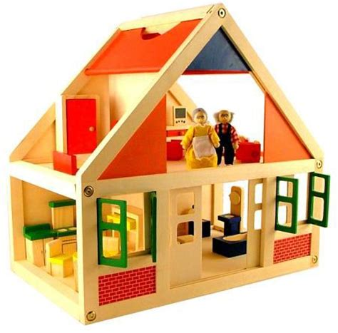 plan toys play house wooden dolls house furniture at my wooden toys