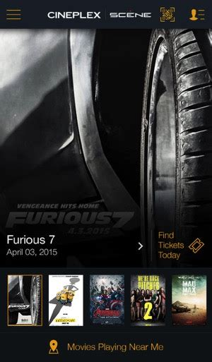 cineplex mobile cineplex mobile for ios updated to version 5 0 adds more