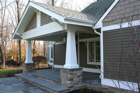 home exterior design with pillars inside architecture craftsman porch