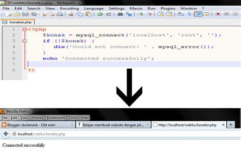 membuat website dengan php untuk pemula dwilanank