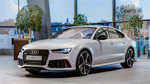 matte silver audi rs7 sportback by audi exclusive gtspirit