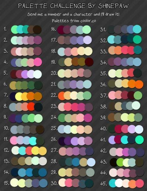 color challenge colour palette challenge osomatsu san amino