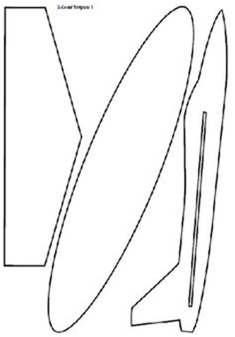 cardboard glider template een vliegtuig maken hout door te figuurzagen kost