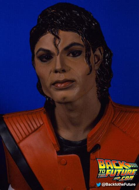Michael Jackson Is Back In The Us by Michael Jackson In Back To The Future 2 Back To