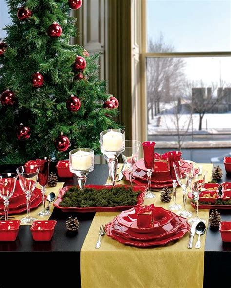christmas table decor ideas 18 dinner decoration pictures