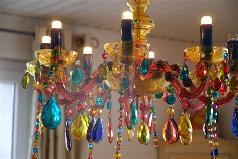 Ls From Recycled Materials by Recycled Chandeliers Recycled Tin End Bead Chandelier