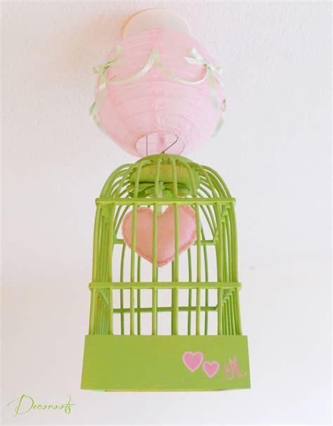 lustre chambre d enfant lustre suspension cage fille vert et enfant b 233 b 233