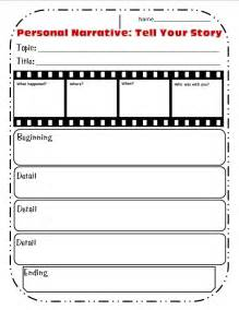 personal narrative template graphic organizers for personal narratives scholastic