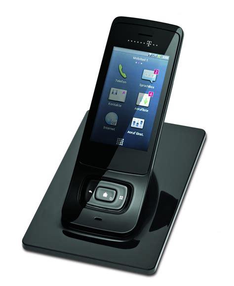telekom speedphone  wlan telefon mit touchdisplay und