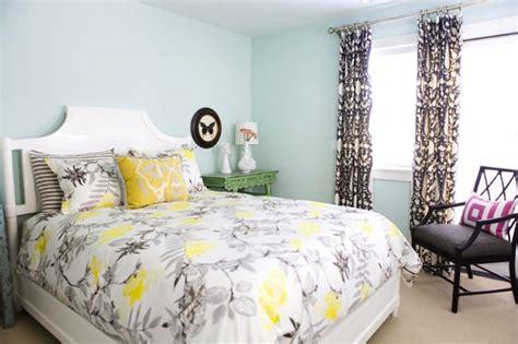 blue gray yellow bedroom blue yellow gray bedroom contemporary bedroom