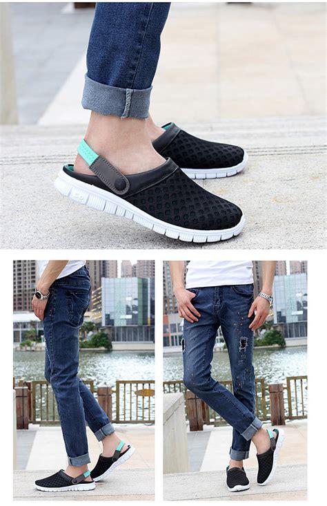 Sepatu Slip On Pria Simpel Santai Ringan Adidas Moccasin Elatis Suede sepatu sandal slip on santai pria size 43 blue
