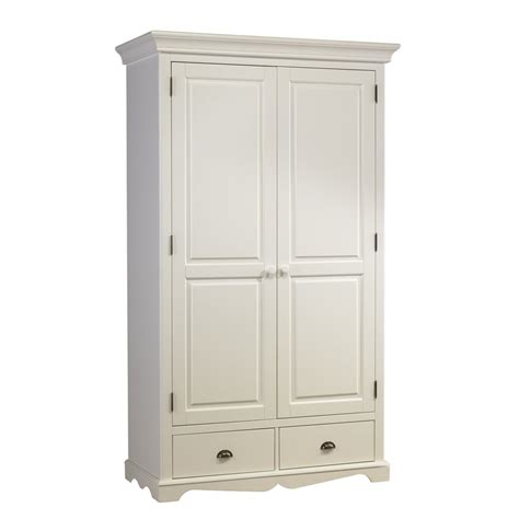Armoire Style Anglais by Armoire Penderie Blanche 2 Portes De Style Anglais
