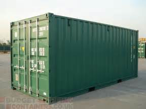 Shipping Container 20ft Shipping Containers High Spec New One Trip