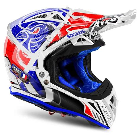 airoh motocross helmet airoh aviator 2 2 six days motocross mx helmet matt