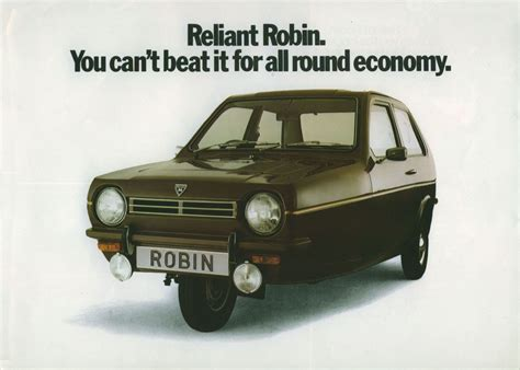 Reliant Robin Brochure