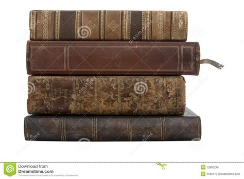 l stack a stack of antique books royalty free stock image