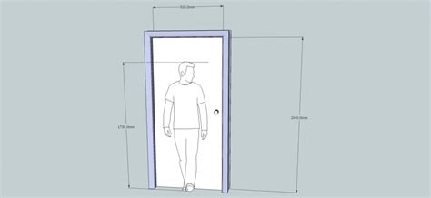 Normal Door Height standard exterior door height on door dimensions and
